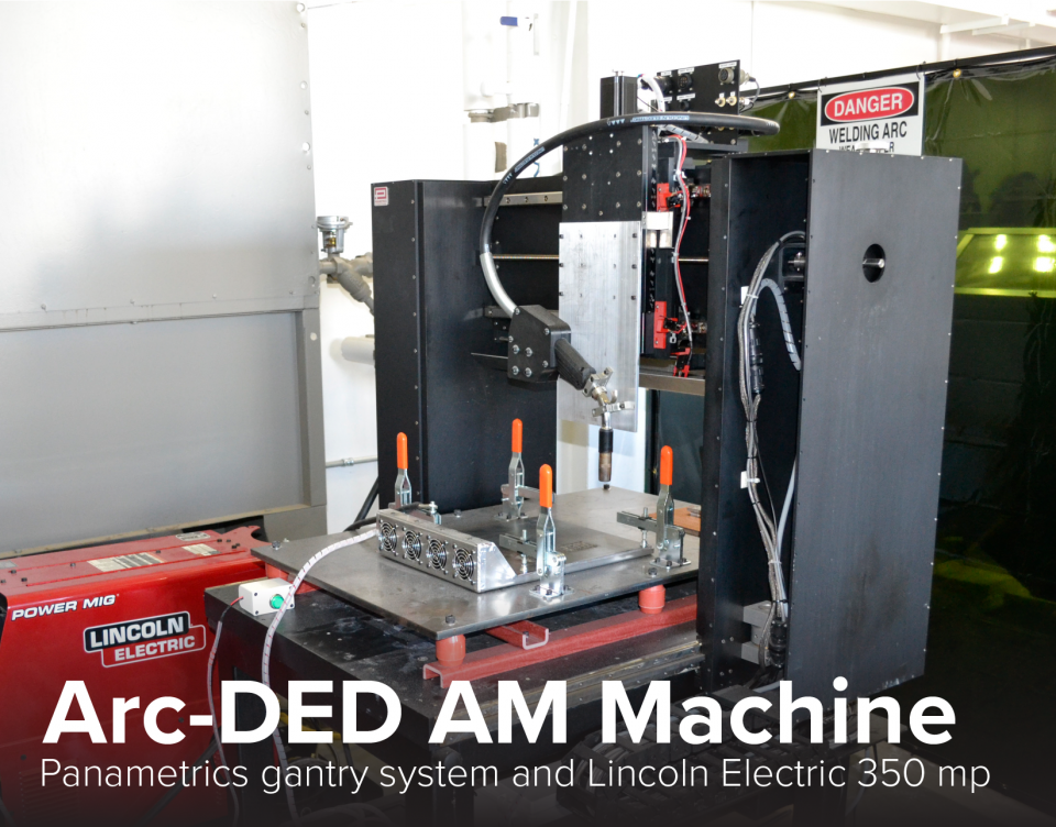 image of Arc-DED AM Machine at CDME