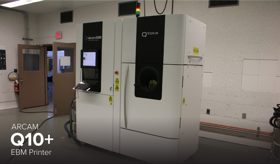 image of Arcam Q10+ 3D printer at CDME