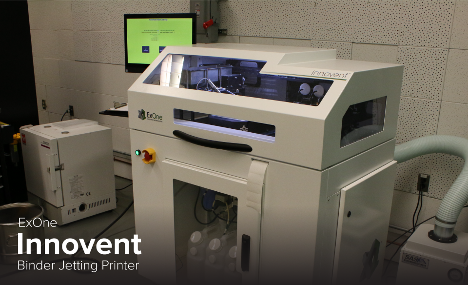 image of ExOne Innovent 3D printer at CDME