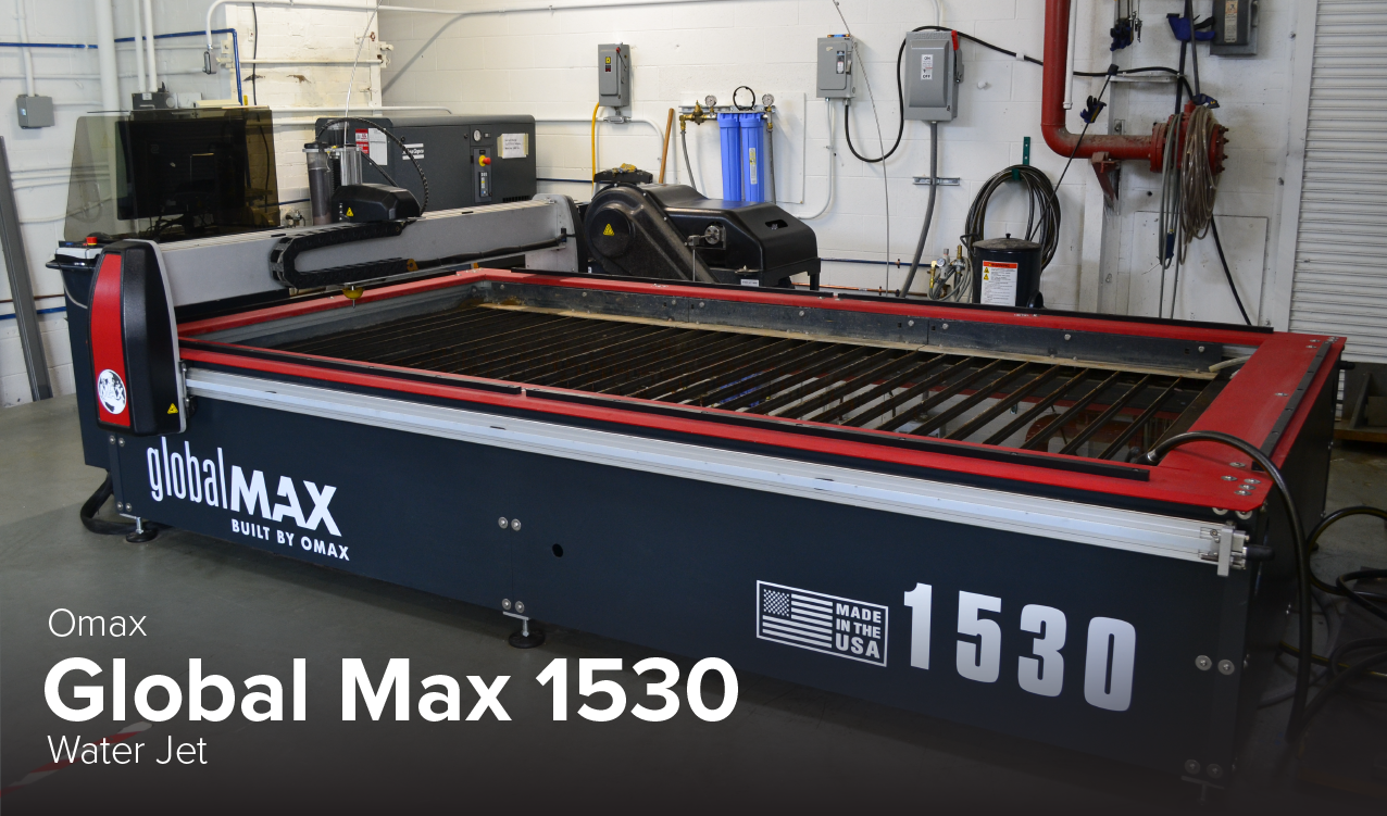 image of Omax Global Max 1530 water jet at CDME