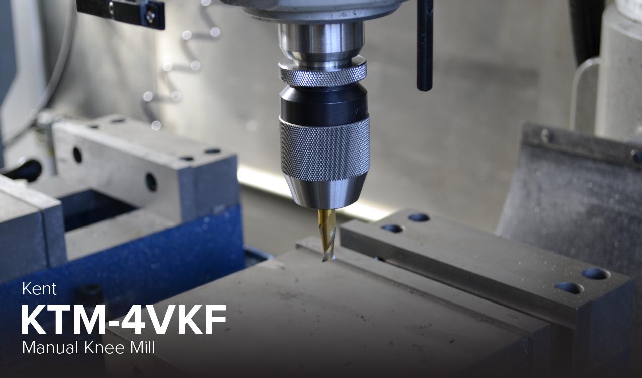 image of Kent KTM-4VKF manual knee mill at CDME