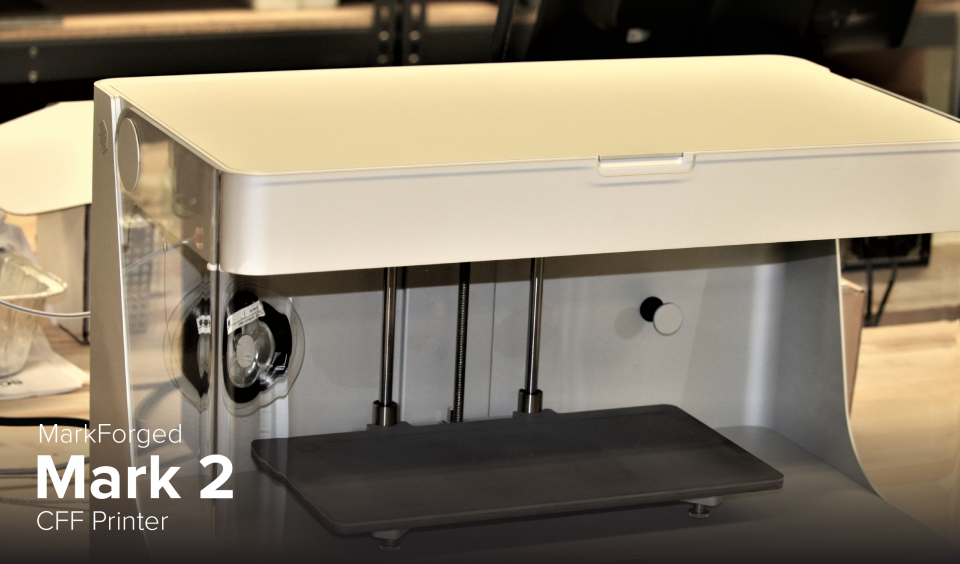 picture of MarkForged Mark 2 CFF printer at CDME