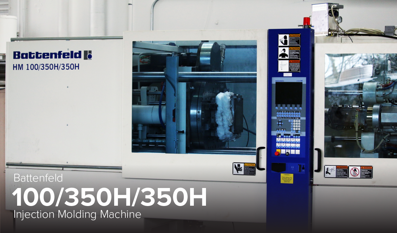 photo of Battenfield Injection Molding Machine at Ohio State's CDME