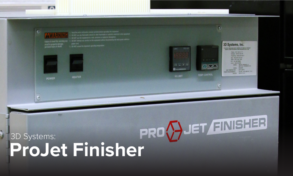 image of 3D Systems ProJet Finisher