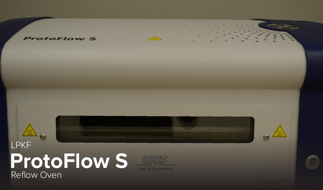 photo of LPKF ProtoFlow S Reflow Oven at Ohio State's CDME