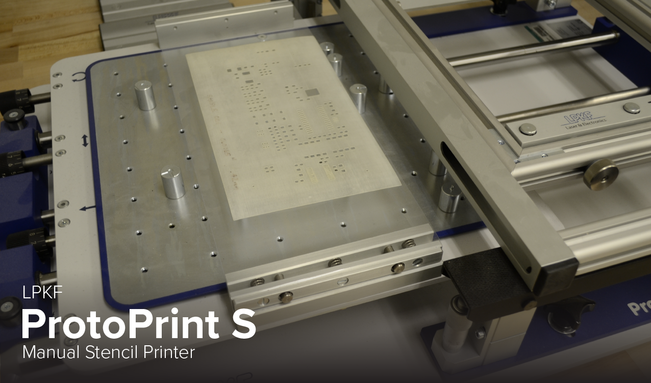 Photo of LPKF ProtoPrint S Manual Stencil Printer at Ohio State's CDME