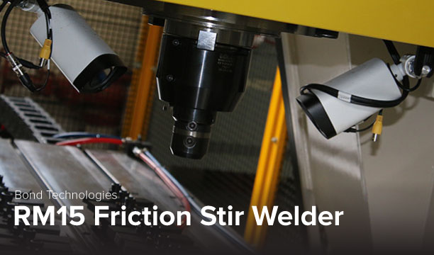 photo of Bond Technologies RM15 Friction Stir Weld at Ohio State's CDME