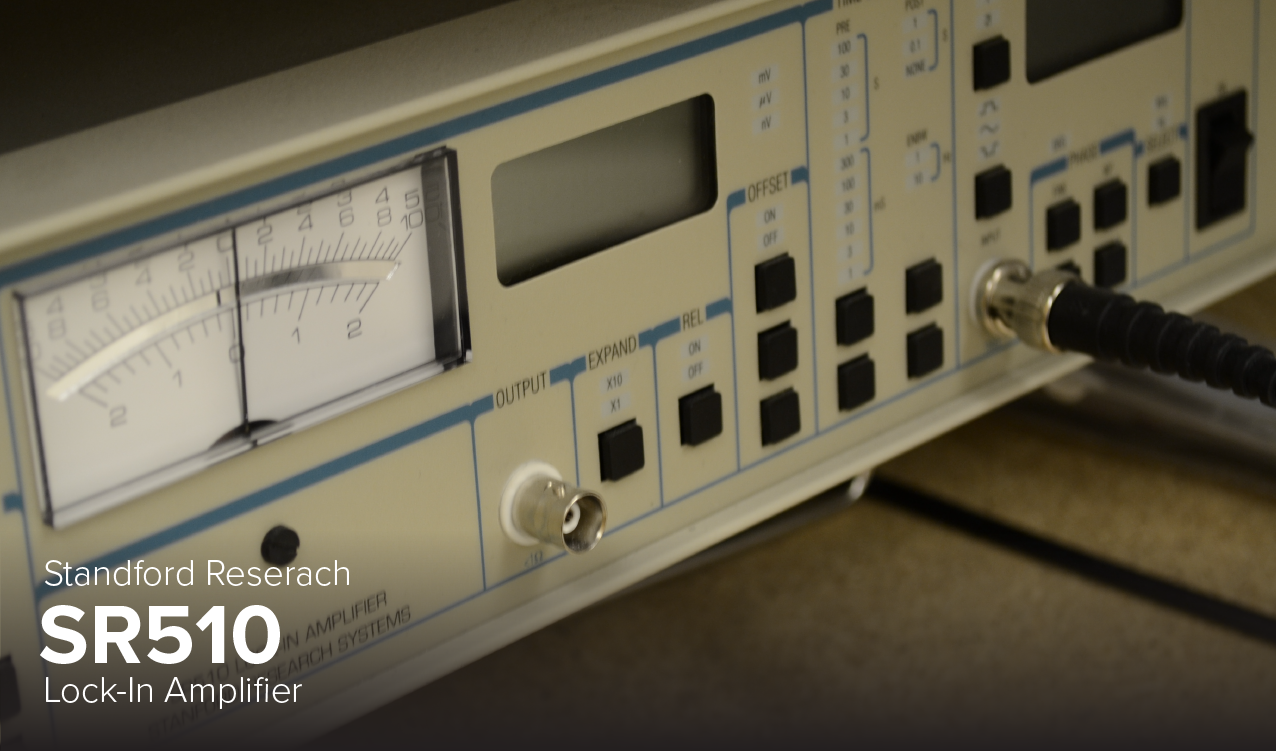Photo of Standford Research SR510 Lock-In Amplifier at Ohio State's CDME