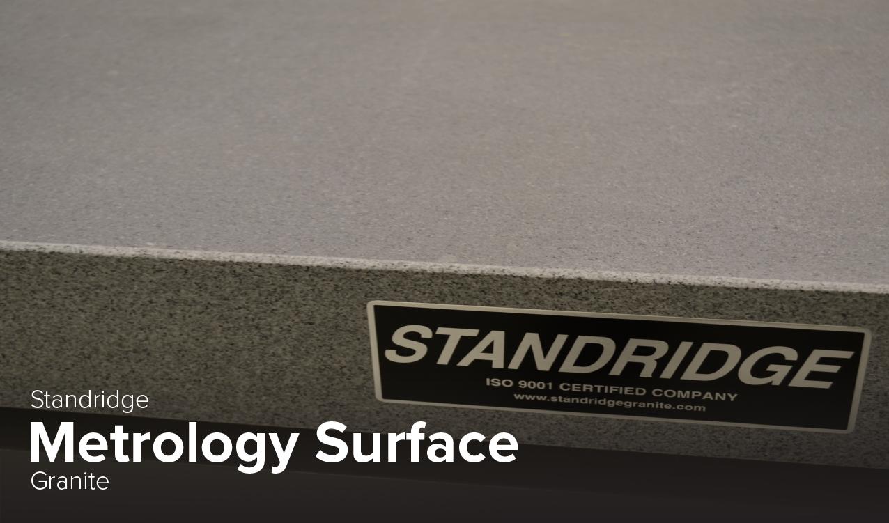 image of Stanridge Metrology Surface granite at CDME