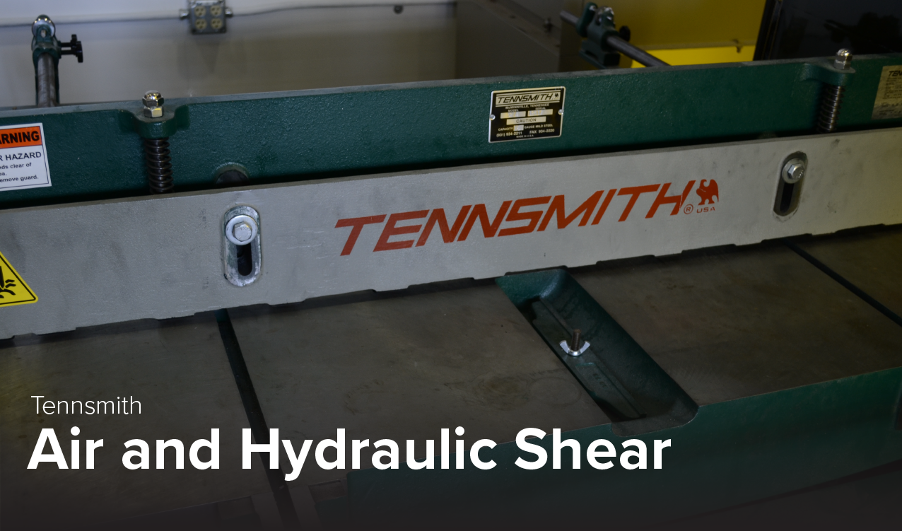 image of Tennsmith air and hydraulic shear at CDME