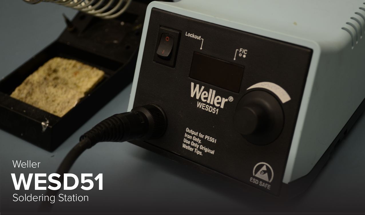 Photo of Weller WESD51 Soldering Station at Ohio State's CDME