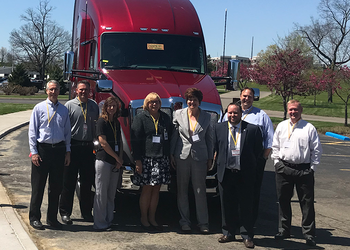 photo of members of CDME, OSU South Centers, ODSA at Kenworth in Chillicothe Ohio