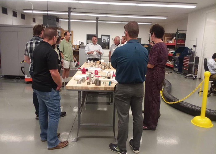 Open House August 17 2018 - Additive Manufacturing Laboratory photo