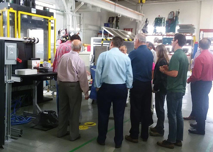 Open House August 17 2018 - Hydraulic Press photo