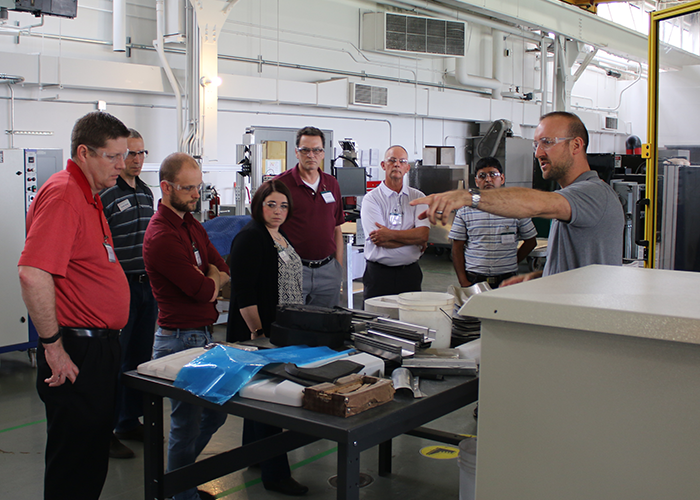 Center for Design and Manufacturing Excellence Ohio State University Open House May 2018